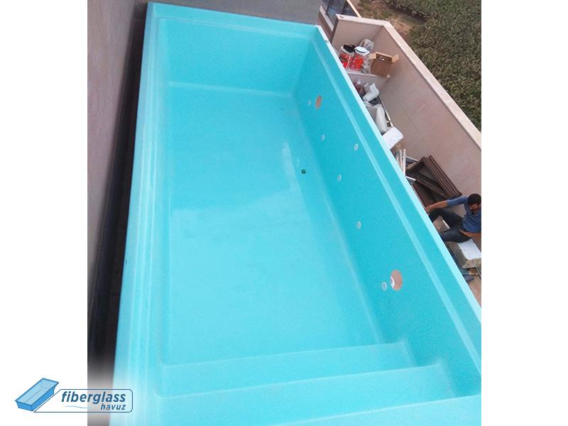 fiberglass yüzme havuzu - havuz yapımı - havuz üretimi - yüzme havuz yapımı