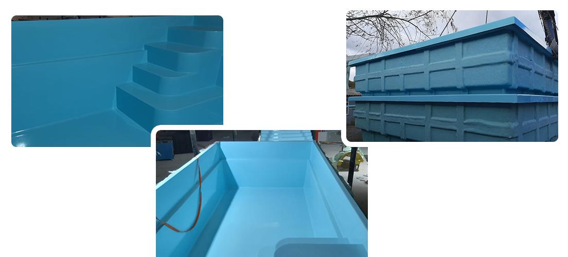 fiberglass yüzme havuzu